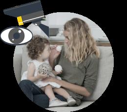 Видеонаблюдение в квартире - контроль за няней