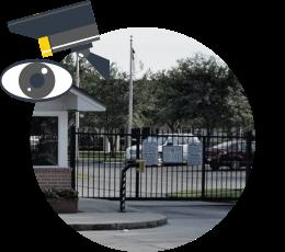 Охрана периметра посредством видеонаблюдения